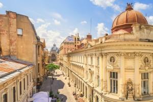 Bucarest : Vieille ville de Bucarest