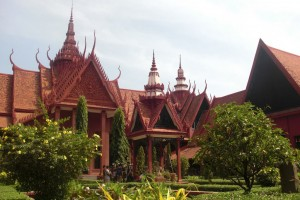 Cambodge : Phnom Penh - National Museum