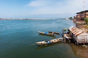 Cotonou : Lagoon of Cotonou