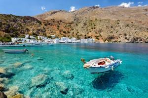 Crète : Baie de Loutro