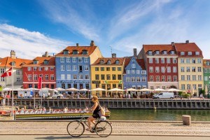 Danemark : Vieux port de Nyhavn, Copenhague