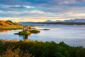 Écosse : Le Château de Stalker