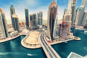 Émirats arabes unis : Marina de Dubaï