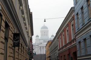 Finlande : Helsinki's Lutheran Cathedral