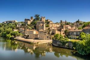 France : Puy-l'Évêque dans le Lot