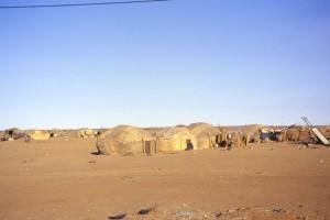 Gao : Mali, campement de nomades, Banlieue de Gao