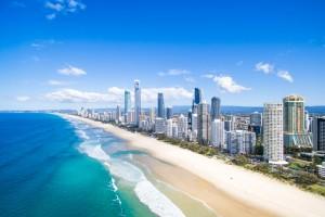 Gold Coast : Surfers Paradise sur la Gold Coast