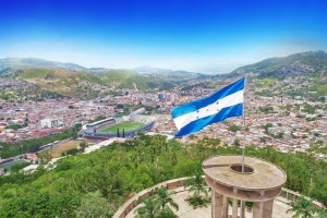 Honduras : Parc Juana Lainez à Tegucigalpa