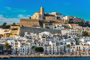 Ibiza : La citadelle d'Eivissa