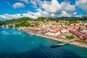 île de Grenade : St Georges, Grenade