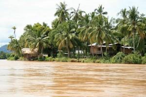 Île de Khong (Don Khong) : the Mekong, Don Det, Laos