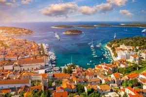 Îles croates : La ville historique de Hvar