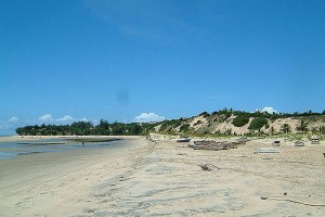 Inhambane : Barra beach Inhambane South East Africa Mozambique