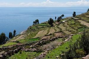 Juliaca (lac Titicaca) : Taquile Island, Lake Titicaca, Peru