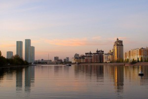 Kazakhstan : Astana, by the River