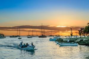 La Romana : Caribbean Sunset