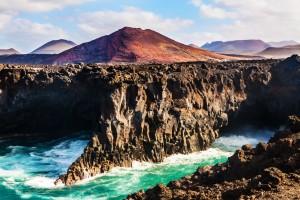 Lanzarote : Los Hervideros  à Lanzarote