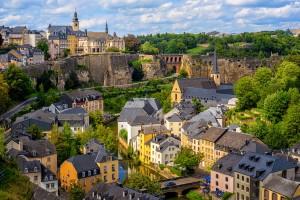 Luxembourg : Ville de Luxembourg, vue sur la vieille ville