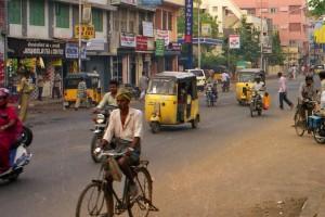 Chennai (Madras) : Chennai street scene