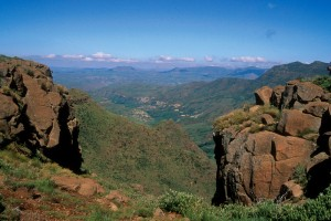 Mafeteng : Malealea Lodge overnight pony trek route