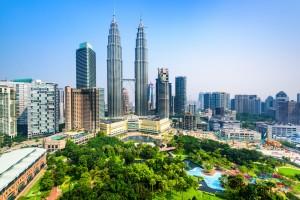Malaisie : Tours Petronas à Kuala Lumpur