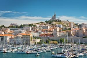 Marseille : Le vieux port de Marseille