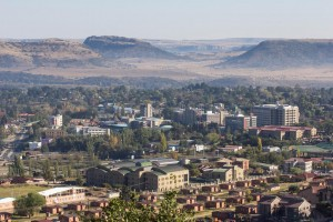 Maseru : Maseru from Parliament Hill