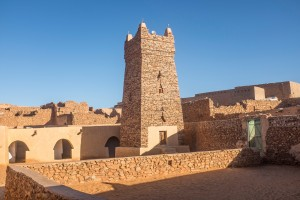 Mauritanie : Grande Mosquée de Chinguetti en Mauritanie