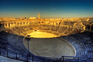 Nîmes (Gard) : Arena of Nîmes