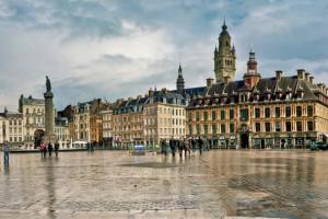 Nord-Pas-de-Calais : La Grande place de Lille