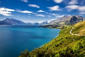 Nouvelle-Zélande : Le Lac Wakatipu sur la route vers Queenstown