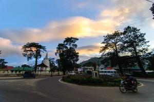 Nuwara Eliya : Sunset on Nuwara Eliya