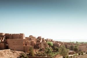 Ouarzazate : Saharan landscape