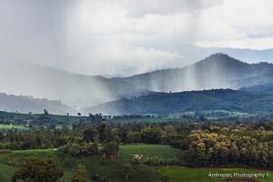 Paï : Rain Over Paï Valley, Thaïland