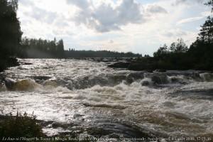 Pajala : Le Jour ni l'Heure 0058 : la Torne à Kengis Bruk, près de Pajala, en Botnie-Septentrionale (Norrbotten), Suède, vendredi 13 août 2010, 17:21:46