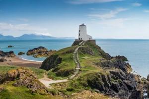 Pays de Galles : L'île de Ynys Llanddwyn au Pays de Galles