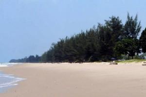 Pekan Tutong : Empty Beach at Tutong