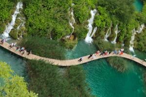 Croatie : Plivice (Parc national)