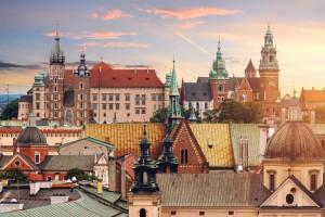 Pologne : Monuments de Cracovie