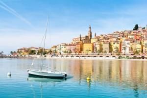 Provence-Alpes-Côte d'Azur : Menton sur la Côte d'Azur
