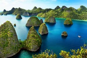 îles Raja Ampat :