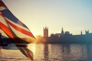 Royaume-Uni : Drapeau du Royaume-Uni et Big Ben