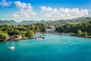 Sainte-Lucie : Marina de Castries, Sainte-Lucie