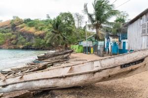 Sao Tomé-et-Principe : Plage de Morro Peixe