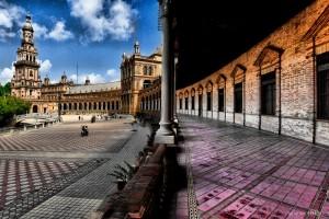 Seville : Plaza de España de Sevilla