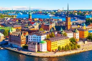 Suède : Port de Stockholm, Suède
