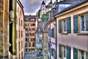 Suisse : Le château de Neuchâtel