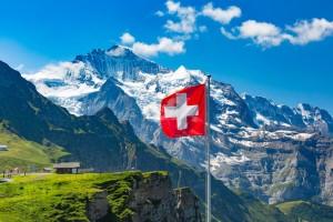 Suisse : Le mont Jungfrau