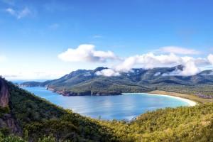 Tasmanie : Wineglass Bay, Tasmanie