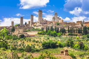 Toscane : San Gimignano en Toscane